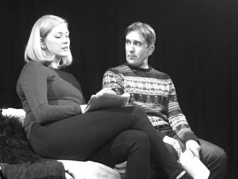 Suzie Houlihan & Darren Benedict in John Hill play Thanks For Sharing - April 2017